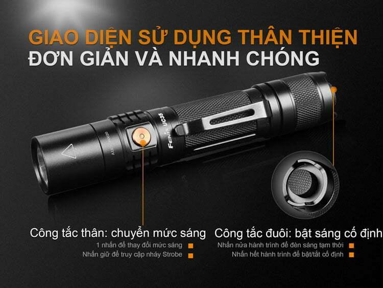 Đèn Pin Fenix UC35 v2.0