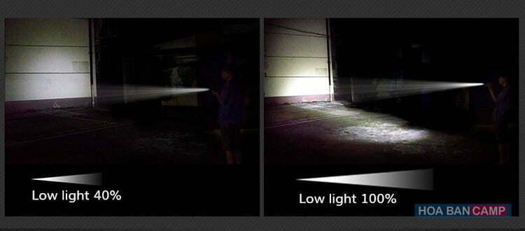 Đèn Pin EDC Kiêm Sạc Dự Phòng NatureHike NH17S071-T