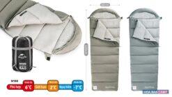 Túi Ngủ Cotton Kèm Mũ NatureHike NH20MSD02 | M180